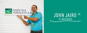 JHON JAIRO, EL PRESIDENTE